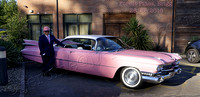 Pink Cadillac at Forest Pines Hotel, Brigg