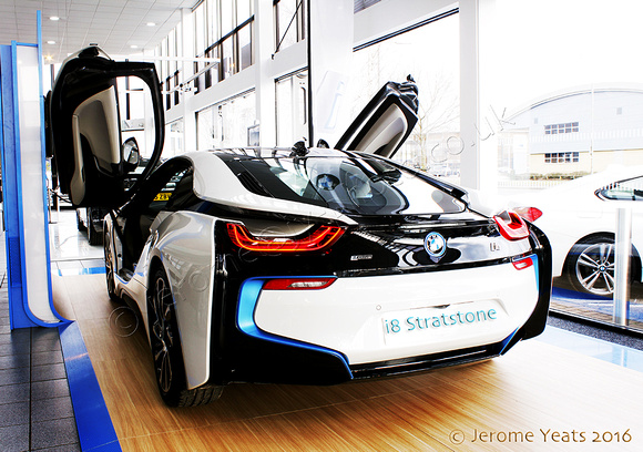 BMW i8 rear and doors