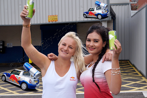 Red Bull promo girls Scunthorpe
