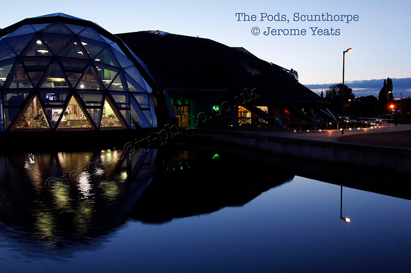 The Pods, Scunthorpe UK