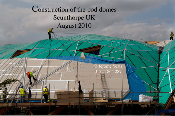 Construction of the Pods, Scunthorpe